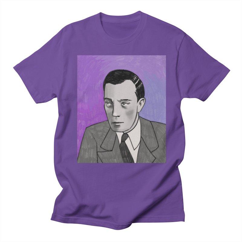 Buster Keaton Women's Regular Unisex T-Shirt by Kate Gabrielle's Threadless Shop
