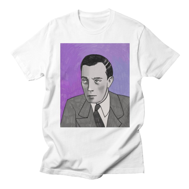 Buster Keaton Men's Regular T-Shirt by Kate Gabrielle's Threadless Shop