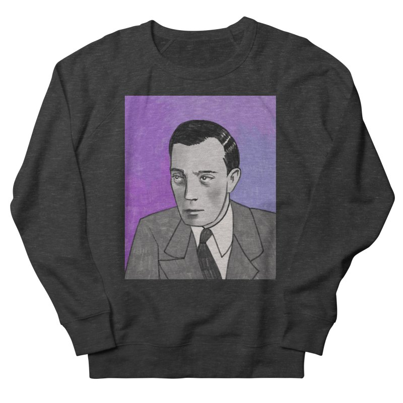 Buster Keaton Women's French Terry Sweatshirt by Kate Gabrielle's Threadless Shop