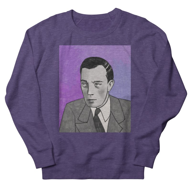 Buster Keaton Men's French Terry Sweatshirt by Kate Gabrielle's Threadless Shop