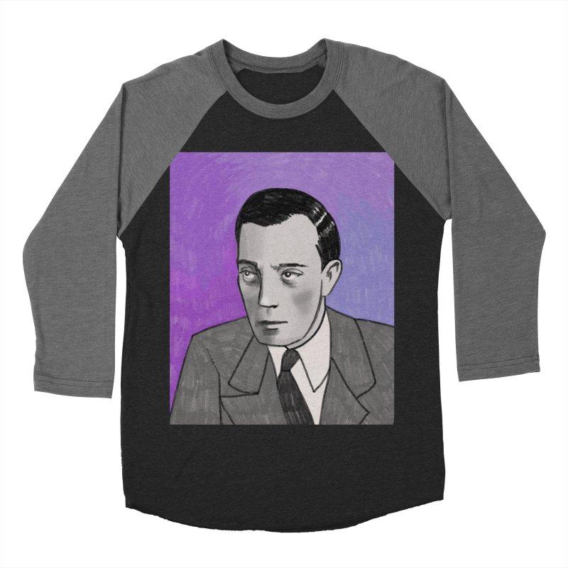 Buster Keaton Women's Baseball Triblend Longsleeve T-Shirt by Kate Gabrielle's Threadless Shop