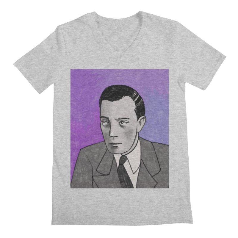 Buster Keaton Men's Regular V-Neck by Kate Gabrielle's Threadless Shop