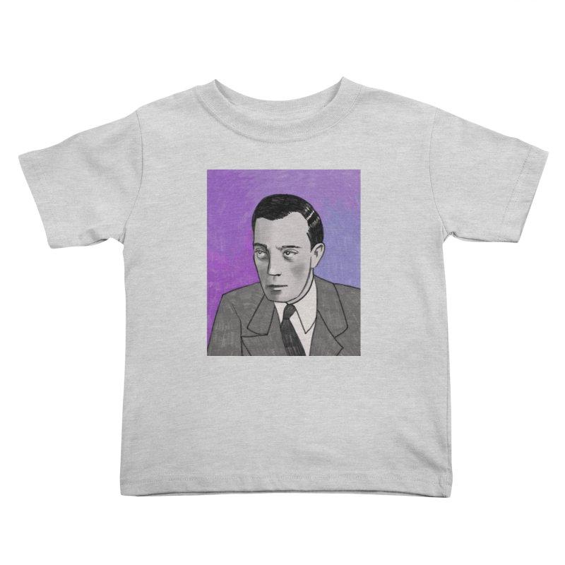 Buster Keaton Kids Toddler T-Shirt by Kate Gabrielle's Threadless Shop