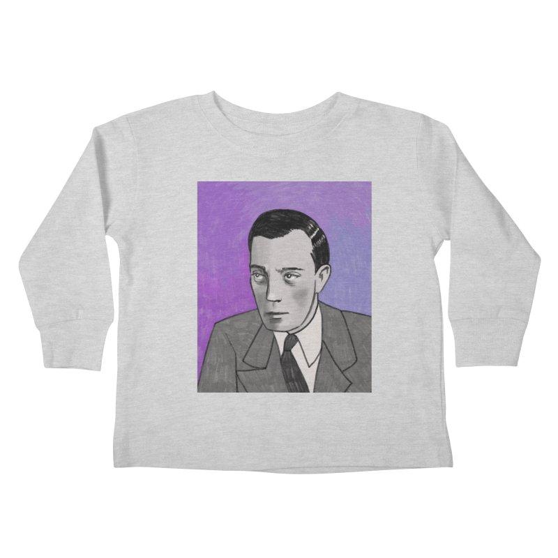 Buster Keaton Kids Toddler Longsleeve T-Shirt by Kate Gabrielle's Threadless Shop