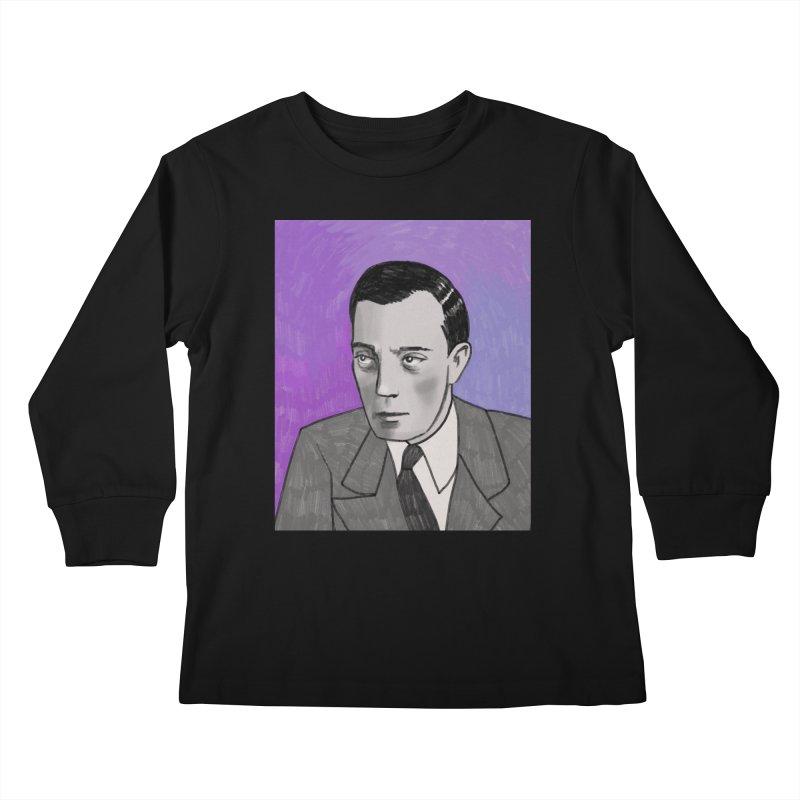 Buster Keaton Kids Longsleeve T-Shirt by Kate Gabrielle's Threadless Shop