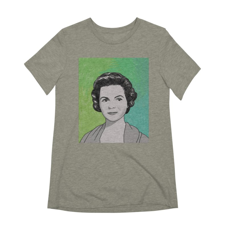 Dorothy McGuire Women's Extra Soft T-Shirt by Kate Gabrielle's Threadless Shop
