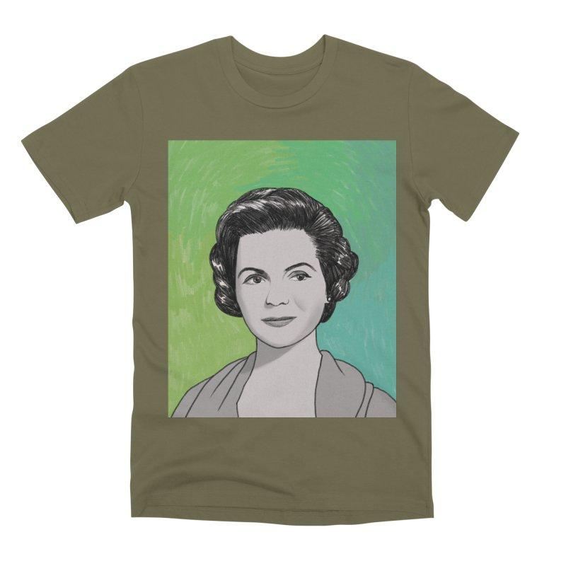 Dorothy McGuire Men's Premium T-Shirt by Kate Gabrielle's Threadless Shop