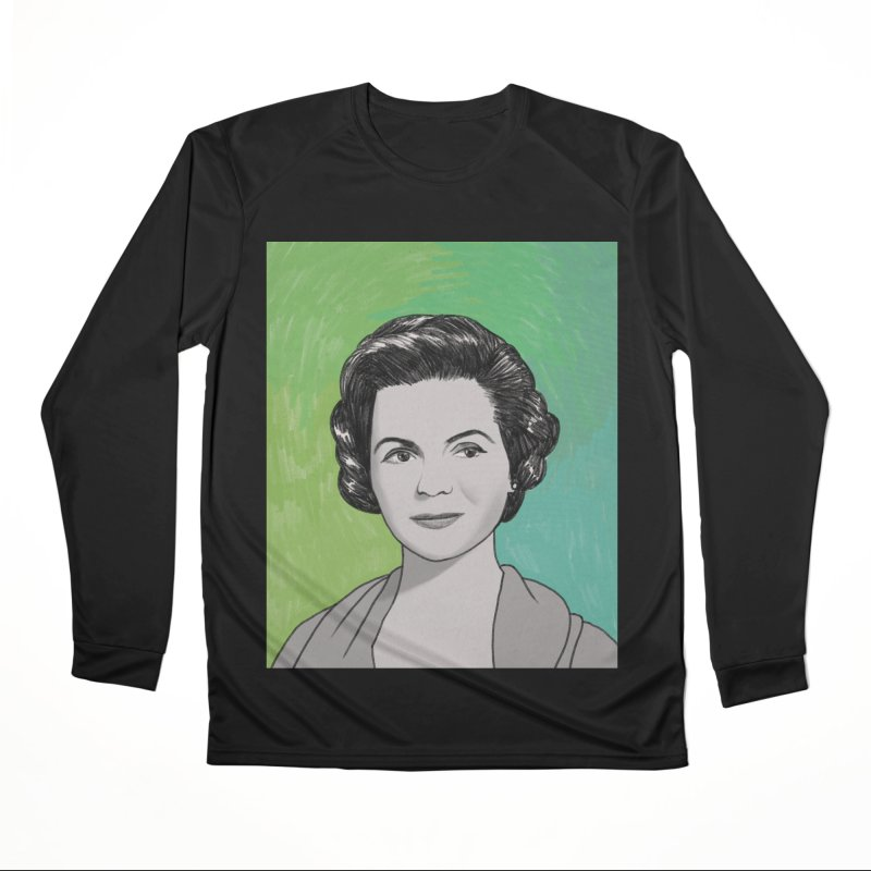 Dorothy McGuire Men's Performance Longsleeve T-Shirt by Kate Gabrielle's Threadless Shop