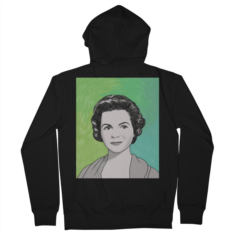 Dorothy McGuire Women's French Terry Zip-Up Hoody by Kate Gabrielle's Threadless Shop