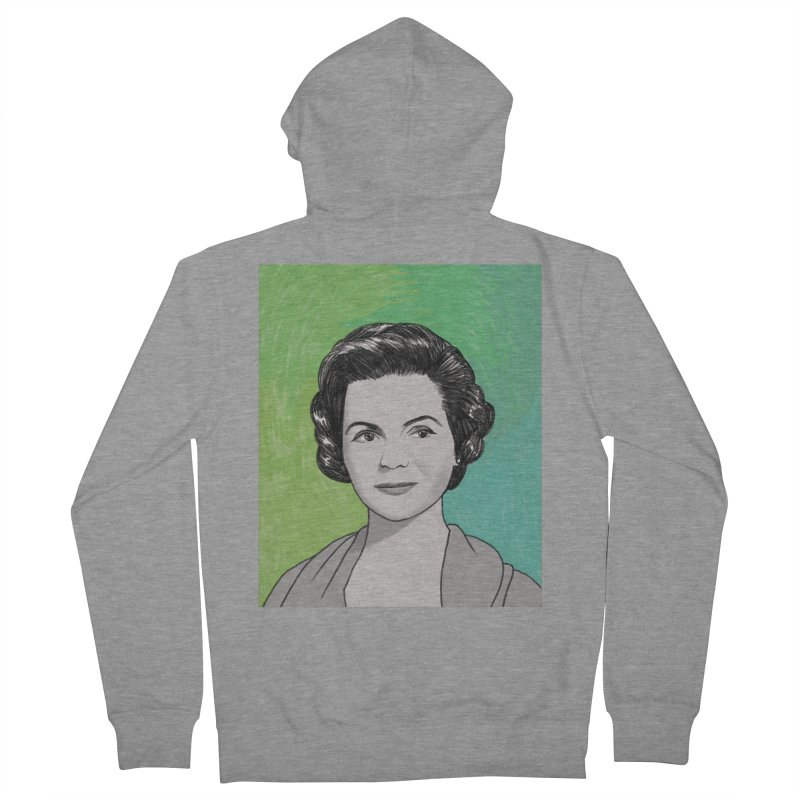 Dorothy McGuire Men's French Terry Zip-Up Hoody by Kate Gabrielle's Threadless Shop