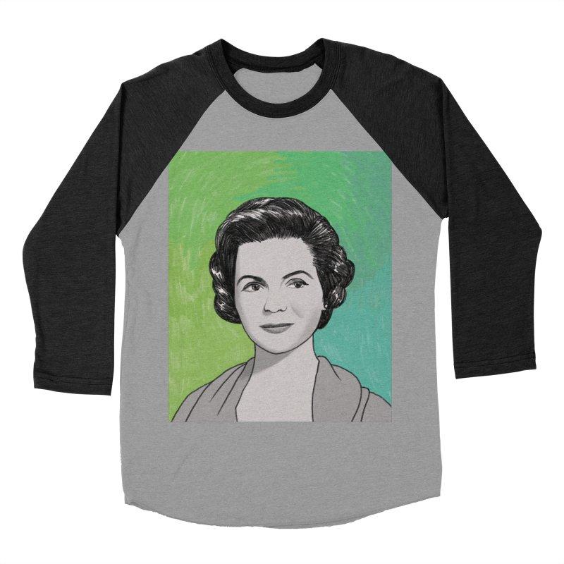 Dorothy McGuire Women's Baseball Triblend Longsleeve T-Shirt by Kate Gabrielle's Threadless Shop