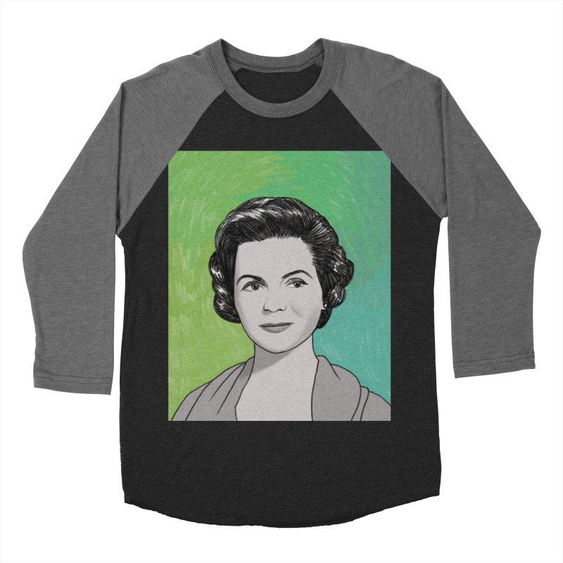 Dorothy McGuire Men's Baseball Triblend Longsleeve T-Shirt by Kate Gabrielle's Threadless Shop