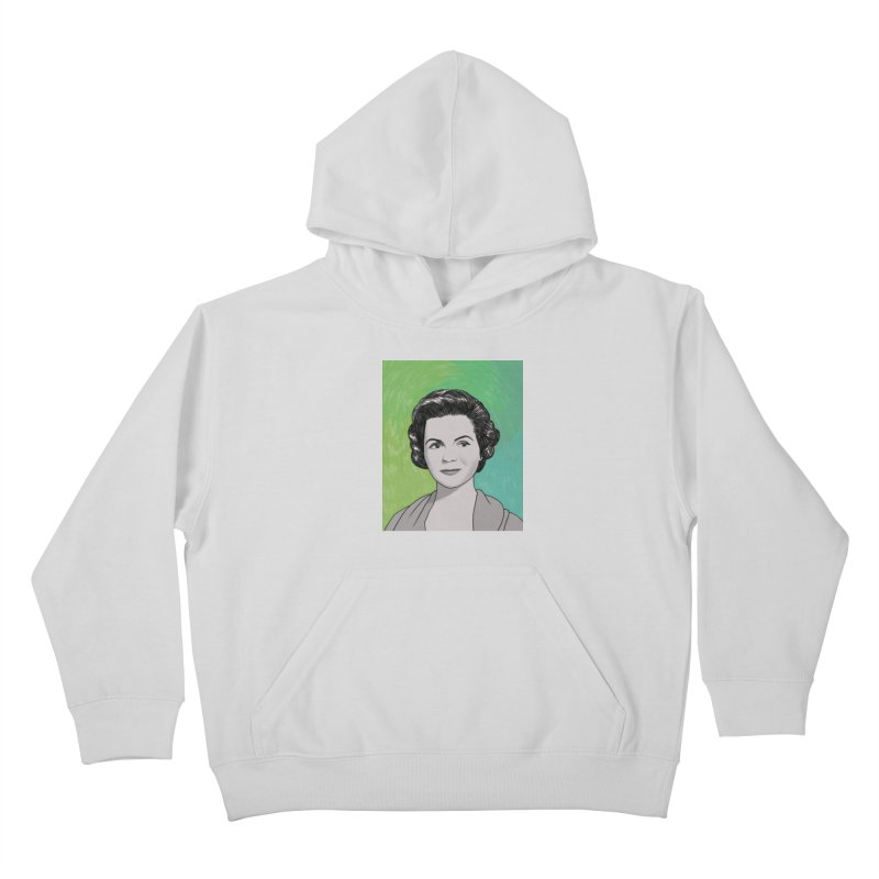 Dorothy McGuire Kids Pullover Hoody by Kate Gabrielle's Threadless Shop