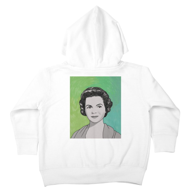 Dorothy McGuire Kids Toddler Zip-Up Hoody by Kate Gabrielle's Threadless Shop