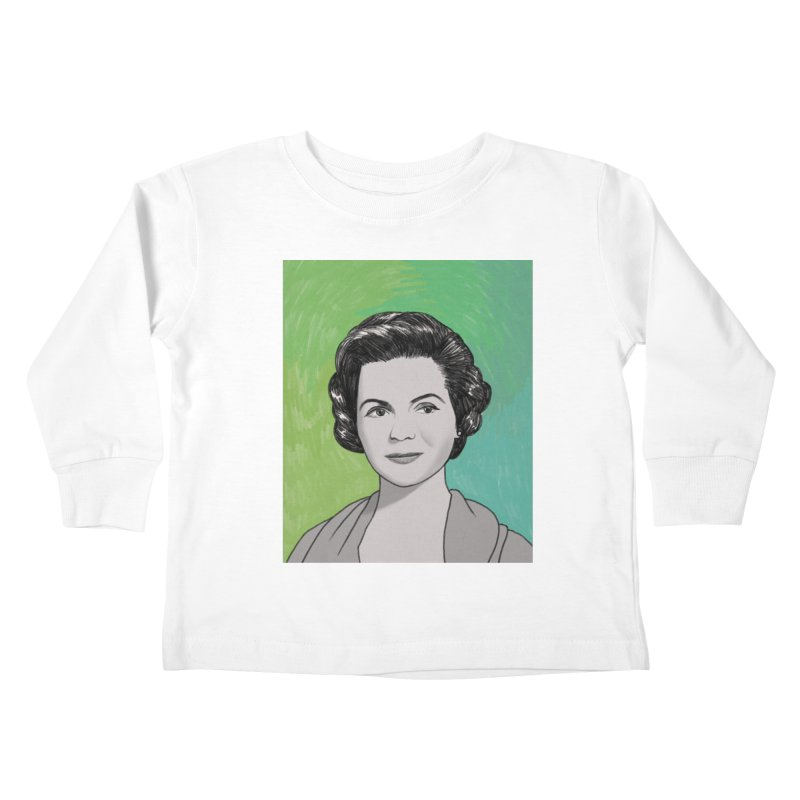 Dorothy McGuire Kids Toddler Longsleeve T-Shirt by Kate Gabrielle's Threadless Shop