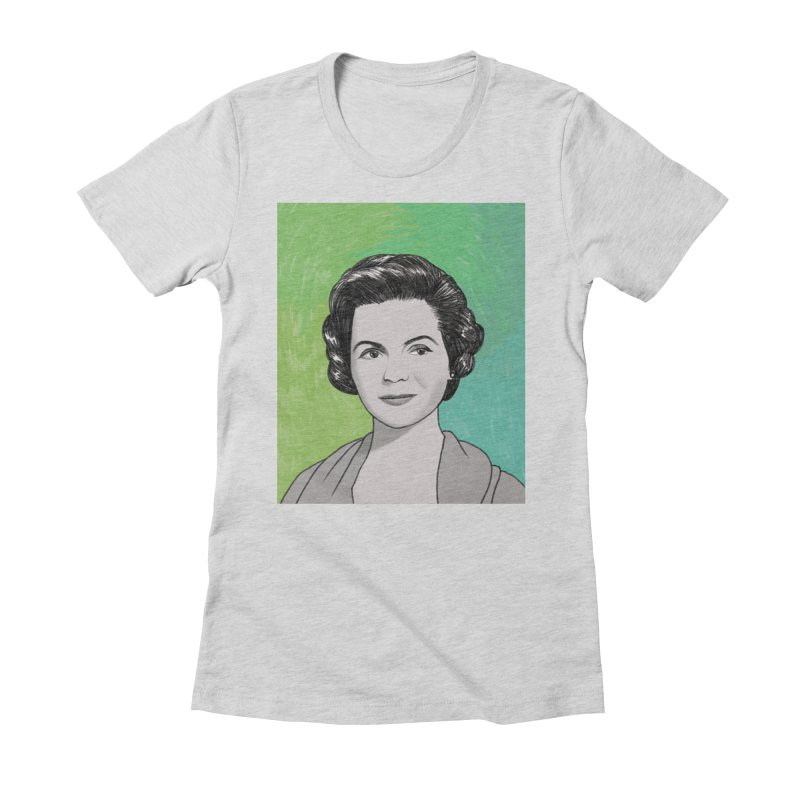 Dorothy McGuire Women's Fitted T-Shirt by Kate Gabrielle's Threadless Shop