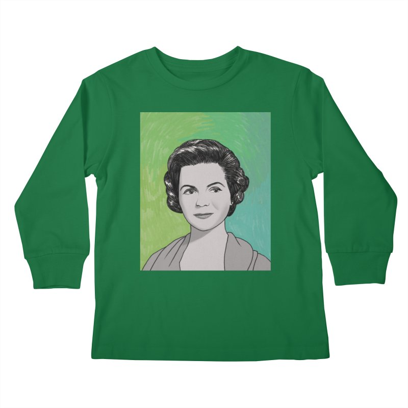 Dorothy McGuire Kids Longsleeve T-Shirt by Kate Gabrielle's Threadless Shop