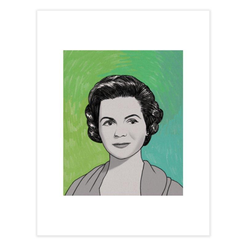 Dorothy McGuire Home Fine Art Print by Kate Gabrielle's Threadless Shop