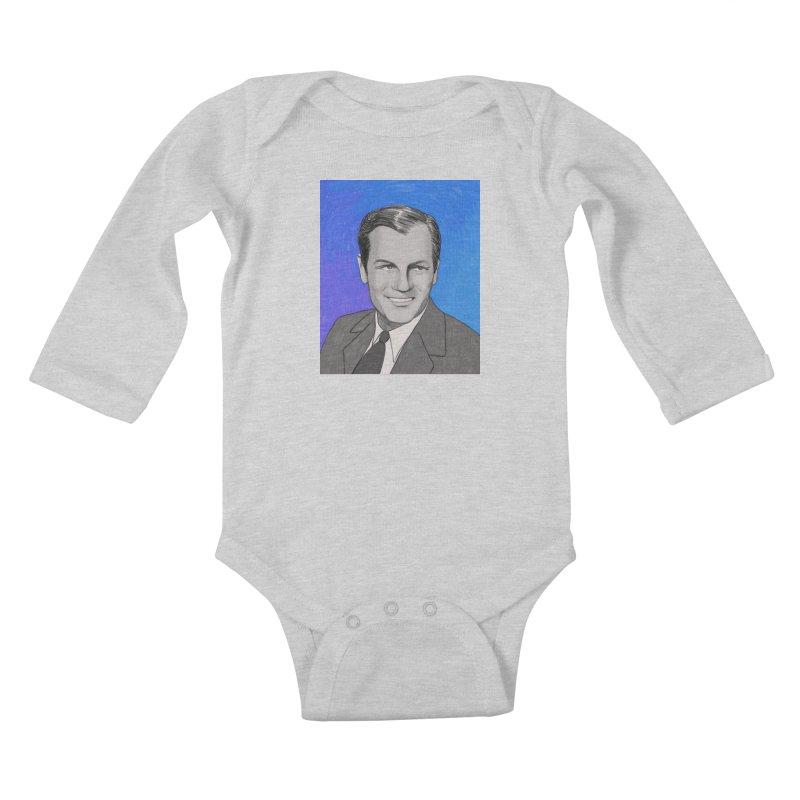 Joel McCrea Kids Baby Longsleeve Bodysuit by Kate Gabrielle's Threadless Shop