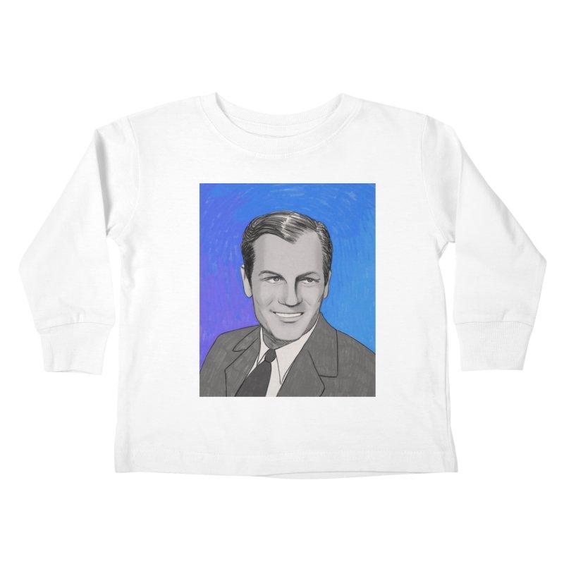 Joel McCrea Kids Toddler Longsleeve T-Shirt by Kate Gabrielle's Threadless Shop