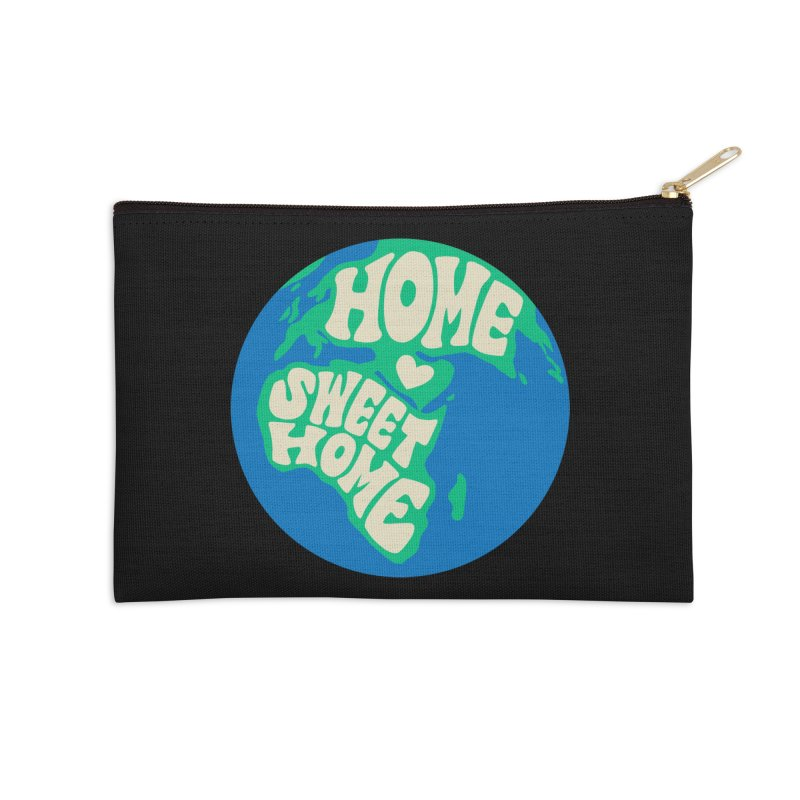 Home Sweet Home Accessories Zip Pouch by Kate Gabrielle's Threadless Shop