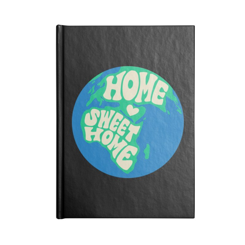 Home Sweet Home Accessories Lined Journal Notebook by Kate Gabrielle's Threadless Shop