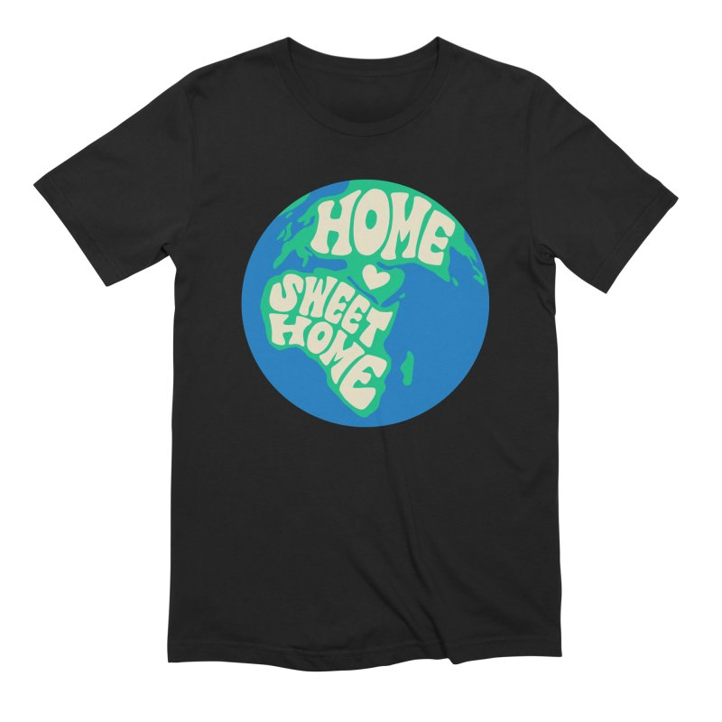 Home Sweet Home Men's Extra Soft T-Shirt by Kate Gabrielle's Threadless Shop