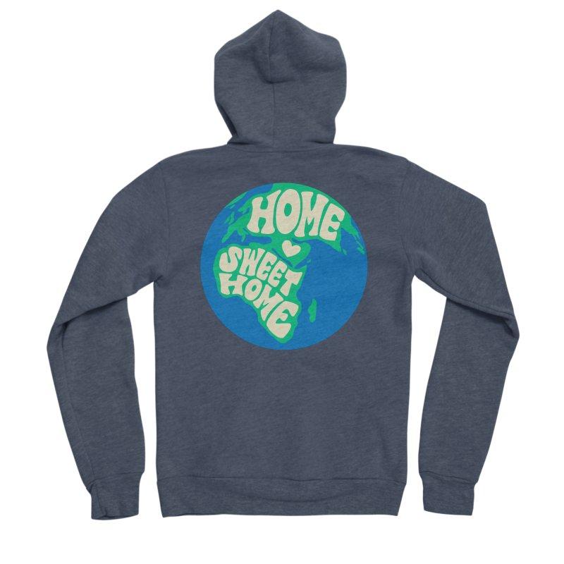 Home Sweet Home Women's Sponge Fleece Zip-Up Hoody by Kate Gabrielle's Threadless Shop