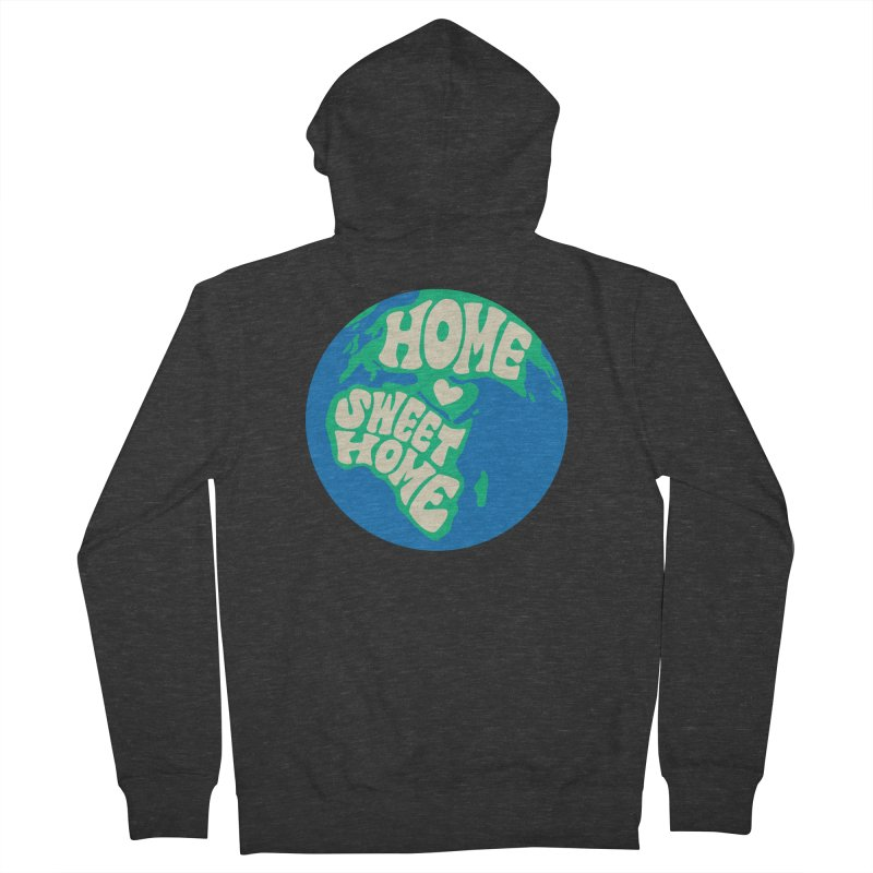 Home Sweet Home Men's French Terry Zip-Up Hoody by Kate Gabrielle's Threadless Shop