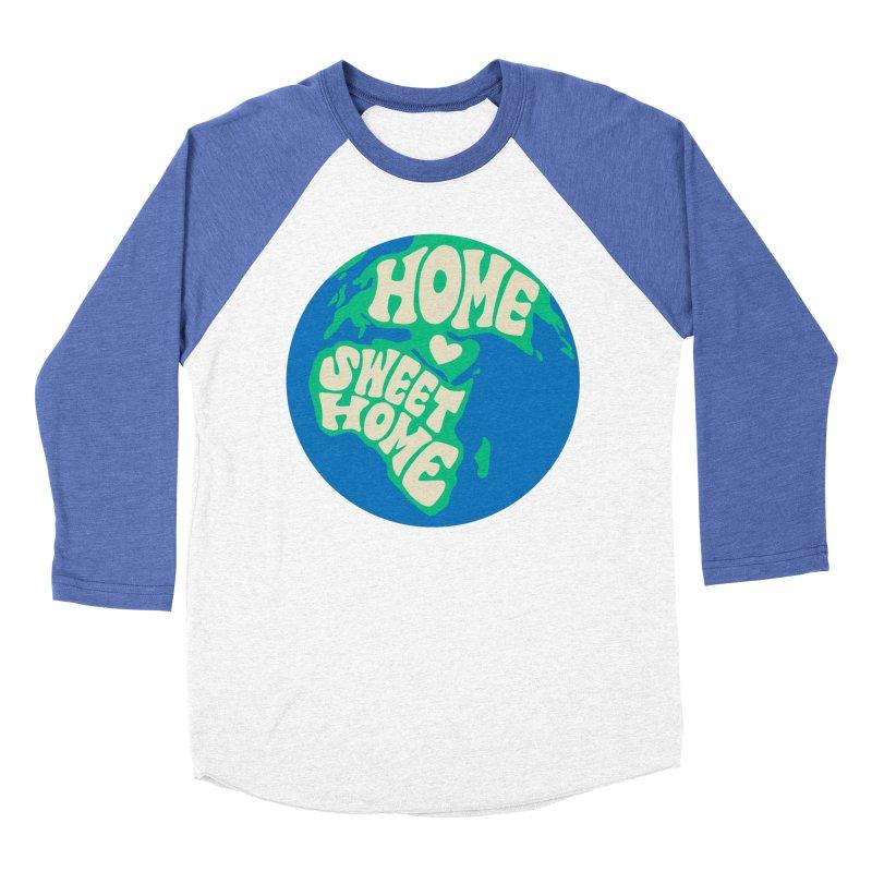 Home Sweet Home Women's Baseball Triblend Longsleeve T-Shirt by Kate Gabrielle's Threadless Shop
