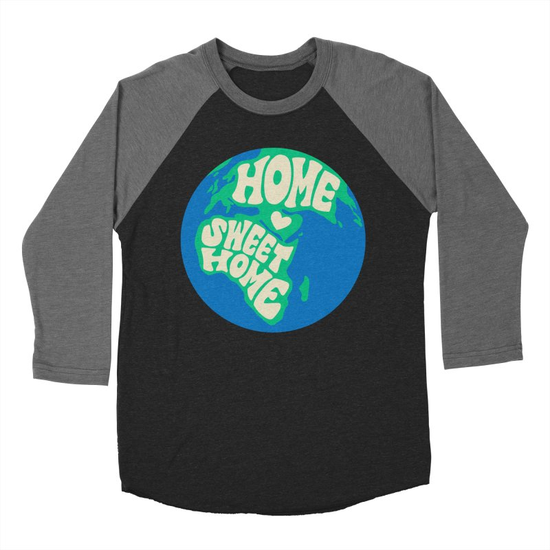 Home Sweet Home Men's Baseball Triblend Longsleeve T-Shirt by Kate Gabrielle's Threadless Shop