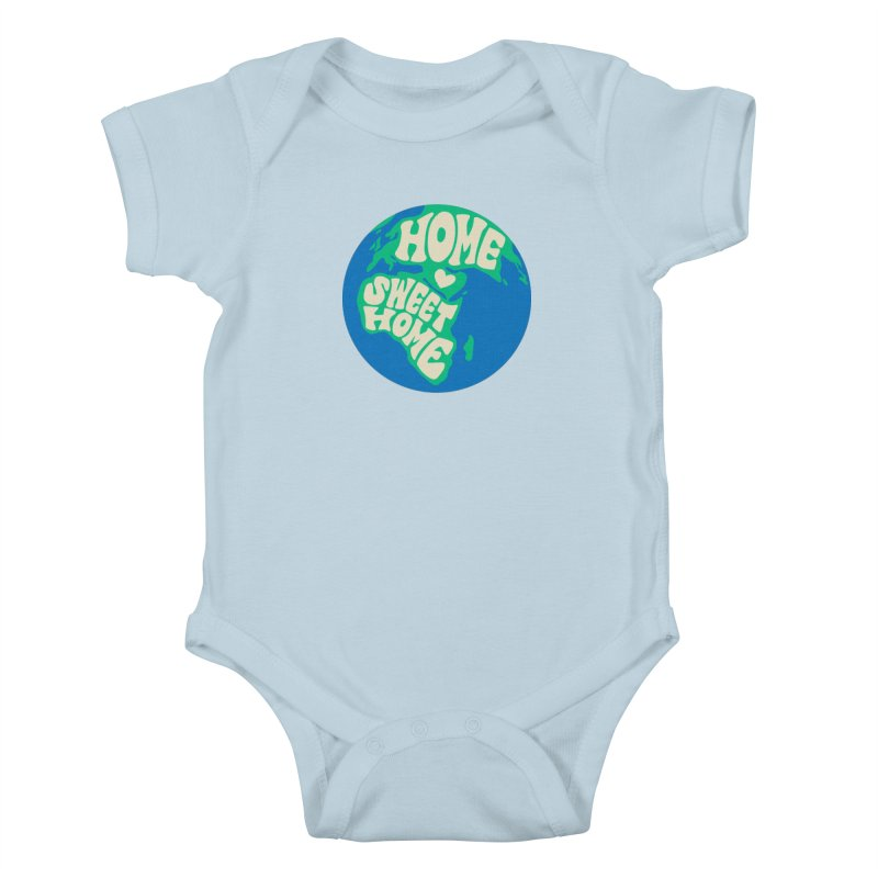 Home Sweet Home Kids Baby Bodysuit by Kate Gabrielle's Threadless Shop