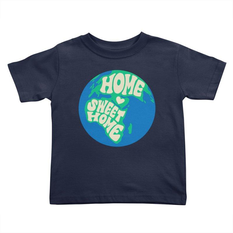Home Sweet Home Kids Toddler T-Shirt by Kate Gabrielle's Threadless Shop