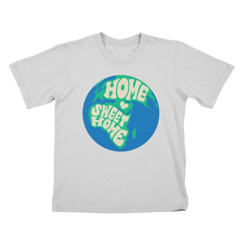 Home Sweet Home Kids T-Shirt by Kate Gabrielle's Threadless Shop