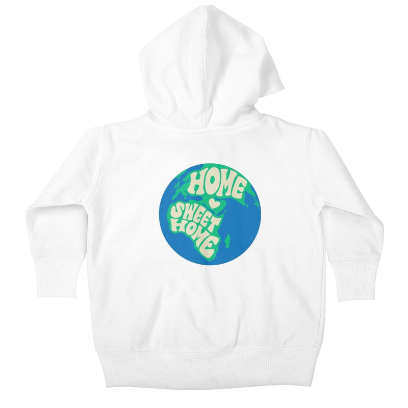 Home Sweet Home Kids Baby Zip-Up Hoody by Kate Gabrielle's Threadless Shop