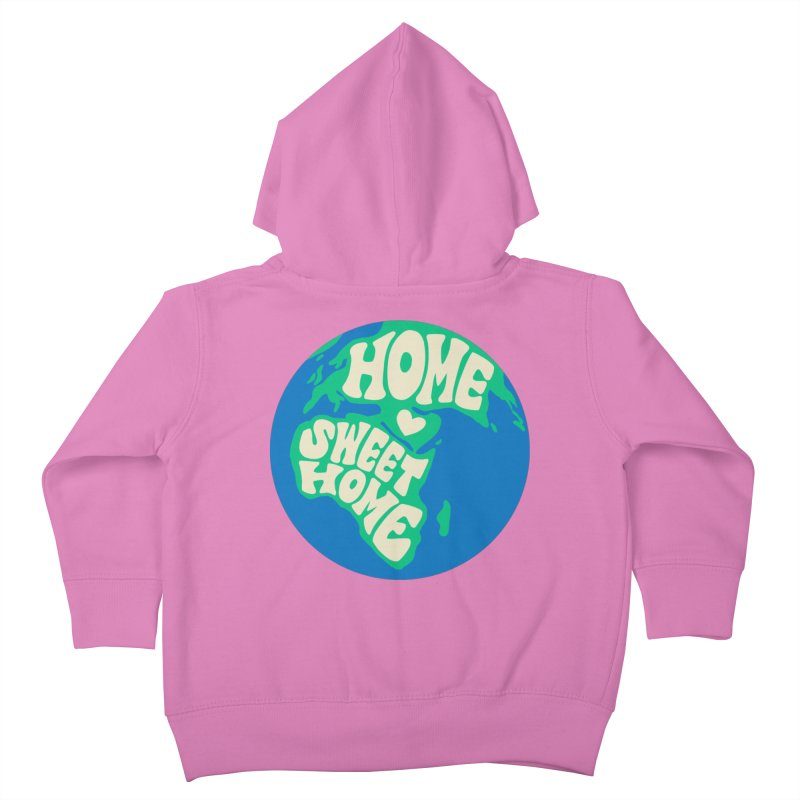 Home Sweet Home Kids Toddler Zip-Up Hoody by Kate Gabrielle's Threadless Shop