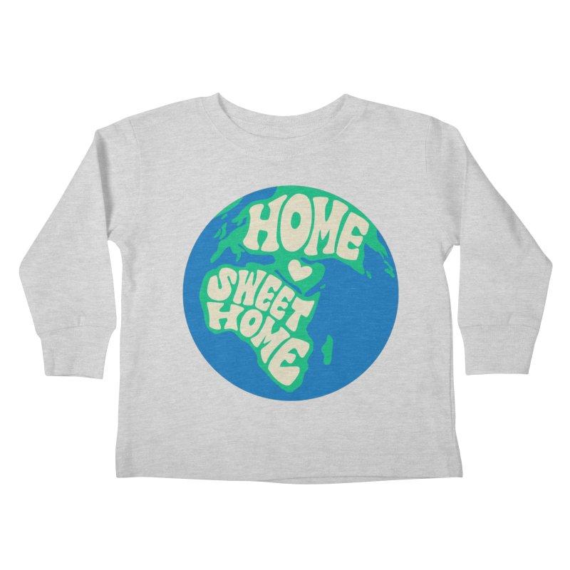 Home Sweet Home Kids Toddler Longsleeve T-Shirt by Kate Gabrielle's Threadless Shop