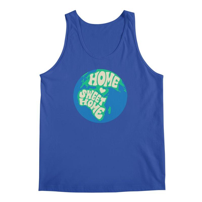Home Sweet Home Men's Regular Tank by Kate Gabrielle's Threadless Shop