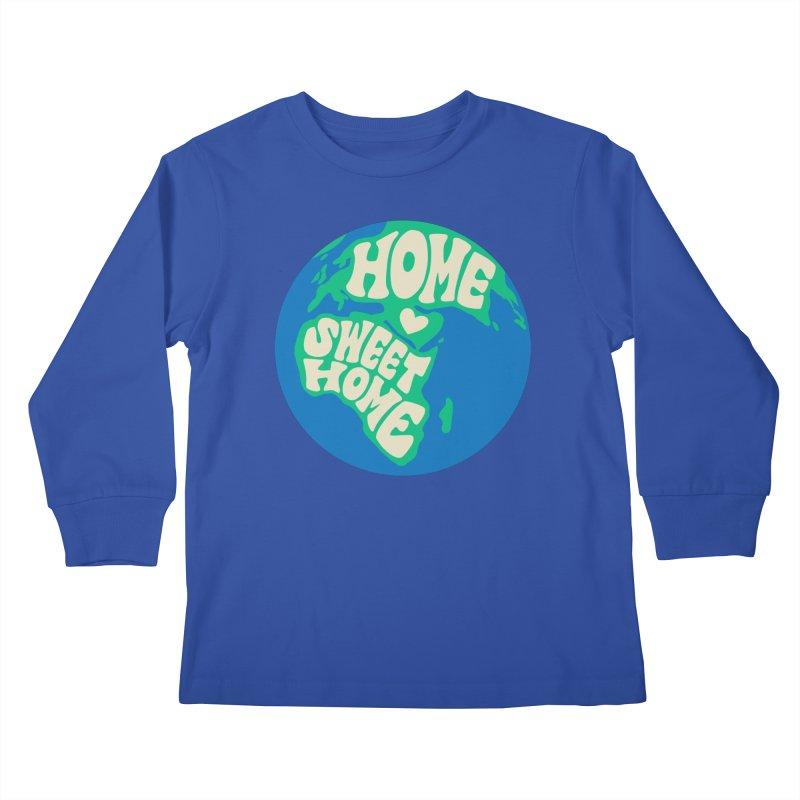 Home Sweet Home Kids Longsleeve T-Shirt by Kate Gabrielle's Threadless Shop