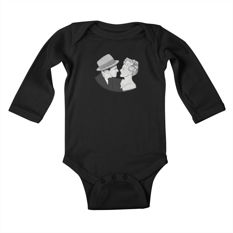 The More The Merrier Kids Baby Longsleeve Bodysuit by Kate Gabrielle's Threadless Shop