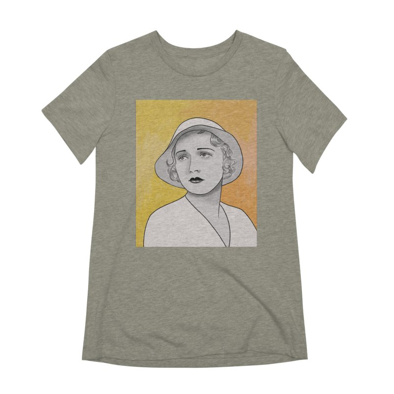 Leila Hyams Women's Extra Soft T-Shirt by Kate Gabrielle's Threadless Shop