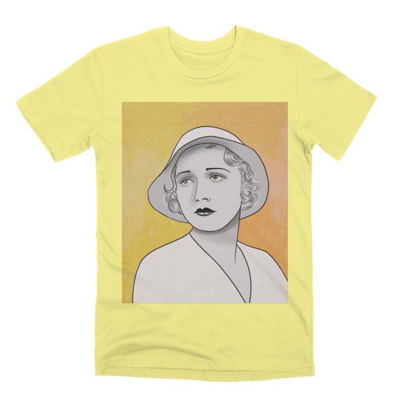 Leila Hyams Men's Premium T-Shirt by Kate Gabrielle's Threadless Shop