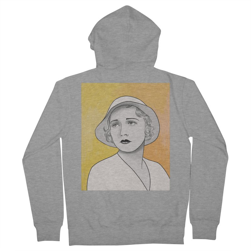 Leila Hyams Women's French Terry Zip-Up Hoody by Kate Gabrielle's Threadless Shop