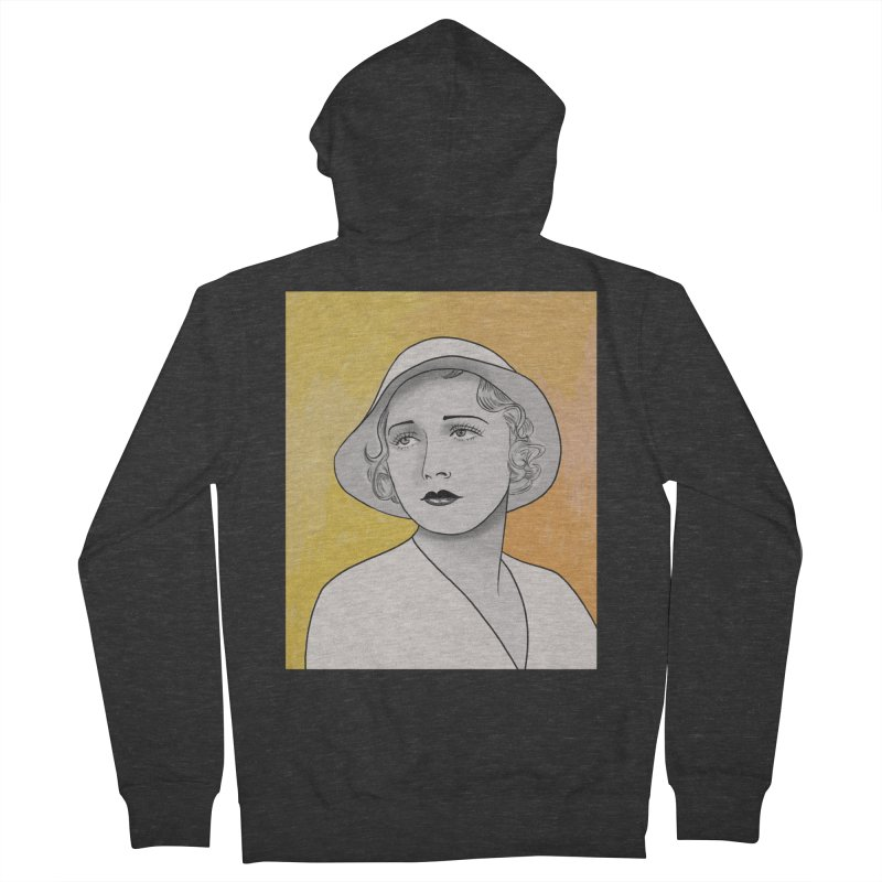 Leila Hyams Men's French Terry Zip-Up Hoody by Kate Gabrielle's Threadless Shop