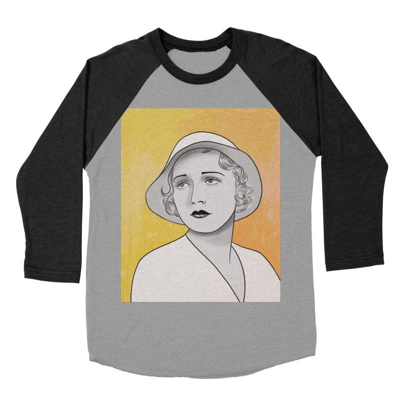 Leila Hyams Men's Baseball Triblend Longsleeve T-Shirt by Kate Gabrielle's Threadless Shop