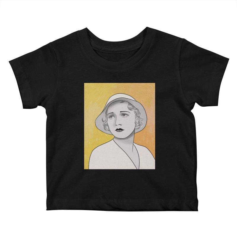 Leila Hyams Kids Baby T-Shirt by Kate Gabrielle's Threadless Shop