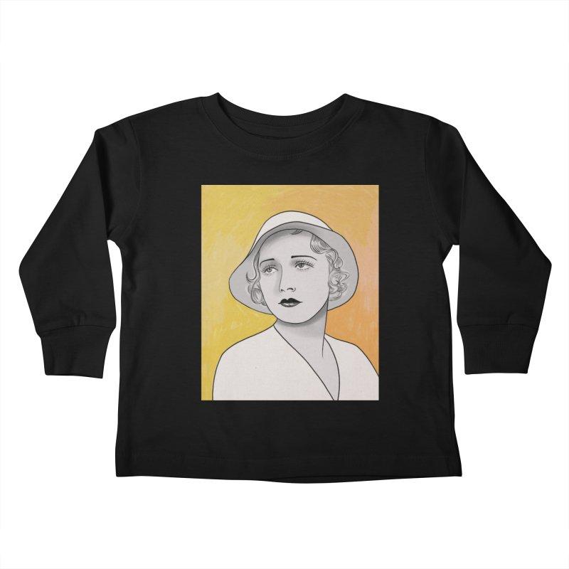 Leila Hyams Kids Toddler Longsleeve T-Shirt by Kate Gabrielle's Threadless Shop