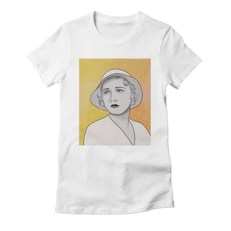Leila Hyams Women's Fitted T-Shirt by Kate Gabrielle's Threadless Shop