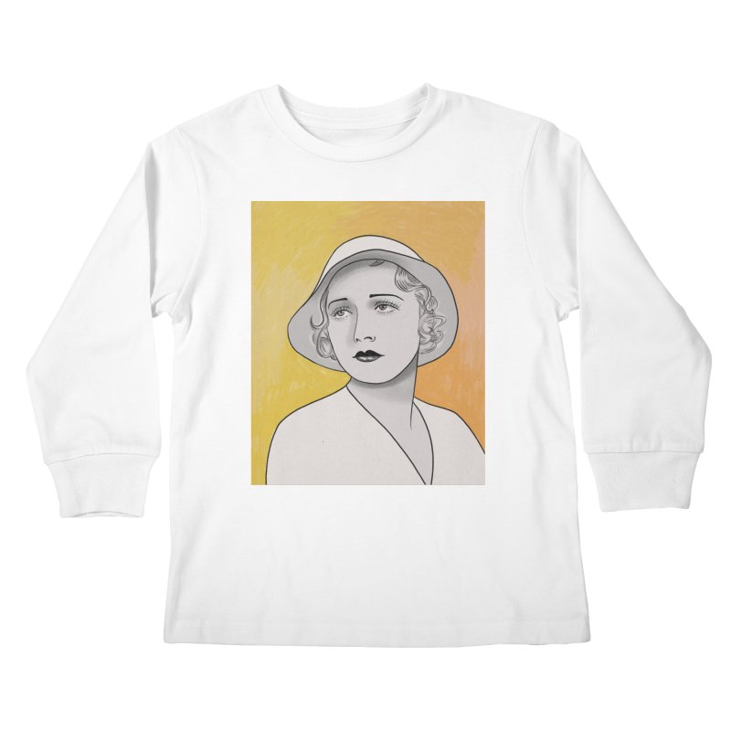 Leila Hyams Kids Longsleeve T-Shirt by Kate Gabrielle's Threadless Shop