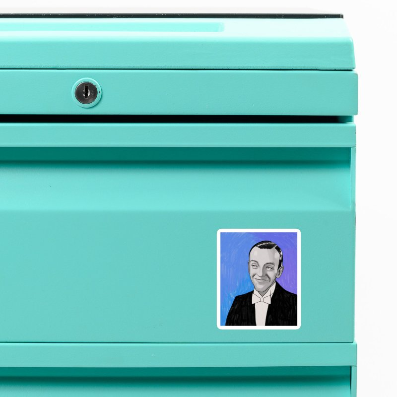 Fred Astaire Accessories Magnet by Kate Gabrielle's Threadless Shop